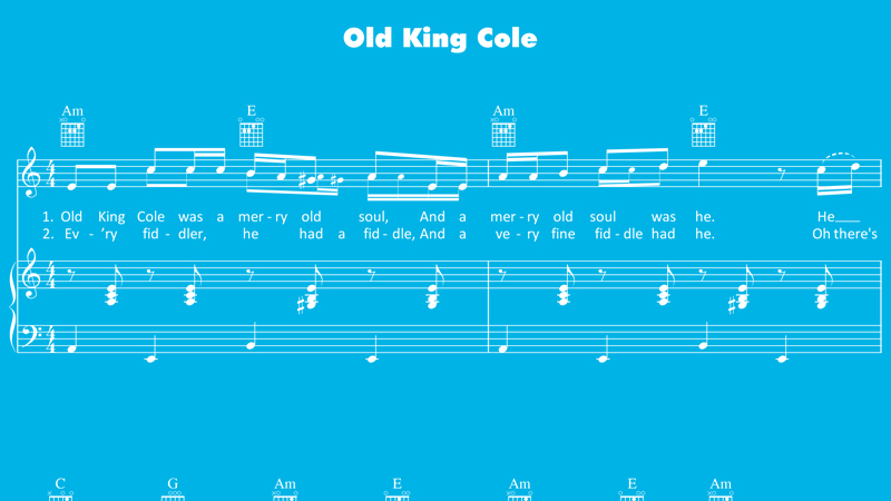 Image for Old King Cole – Sheet Music