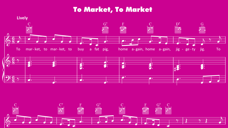 Image for To Market, To Market – Sheet Music