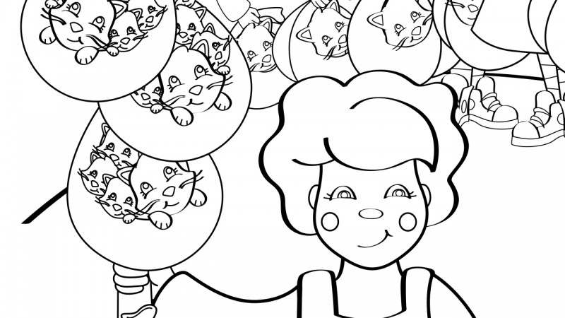 Image for Going to St. Ives – Coloring Page