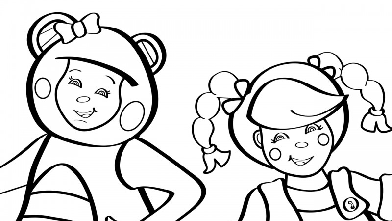 Image for Rig-a-Jig-Jig – Coloring Page