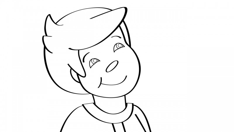 Image for Star Light, Star Bright – Coloring Page