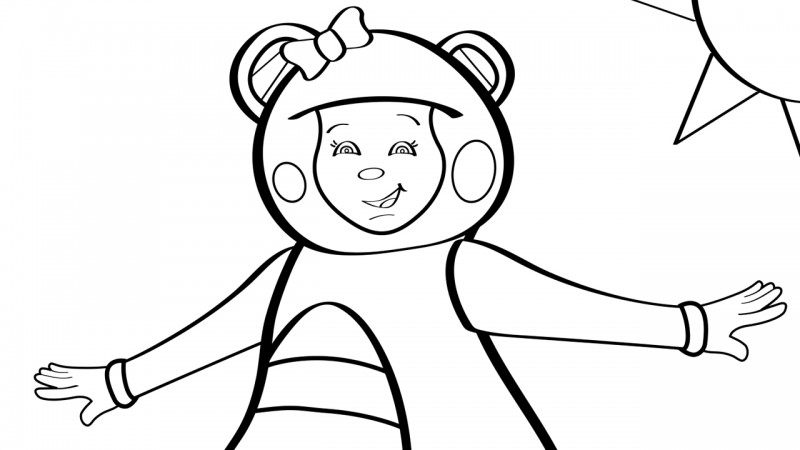 Image for Teddy Bear, Teddy Bear – Coloring Page