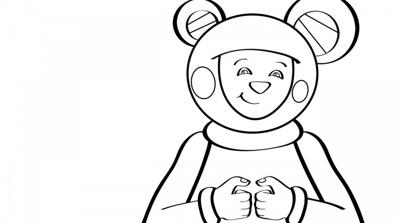 Image for Where Is Thumbkin? – Coloring Page