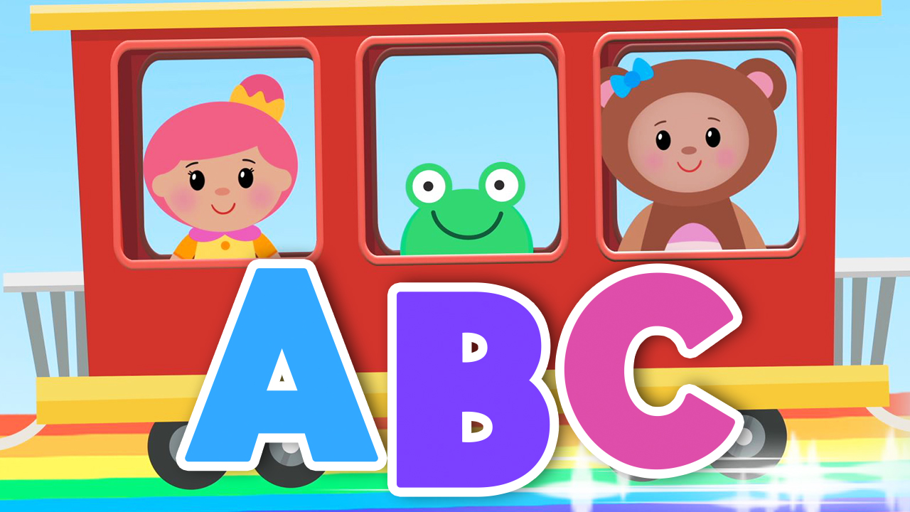 Abc Song  Train  - Nursery Rhymes