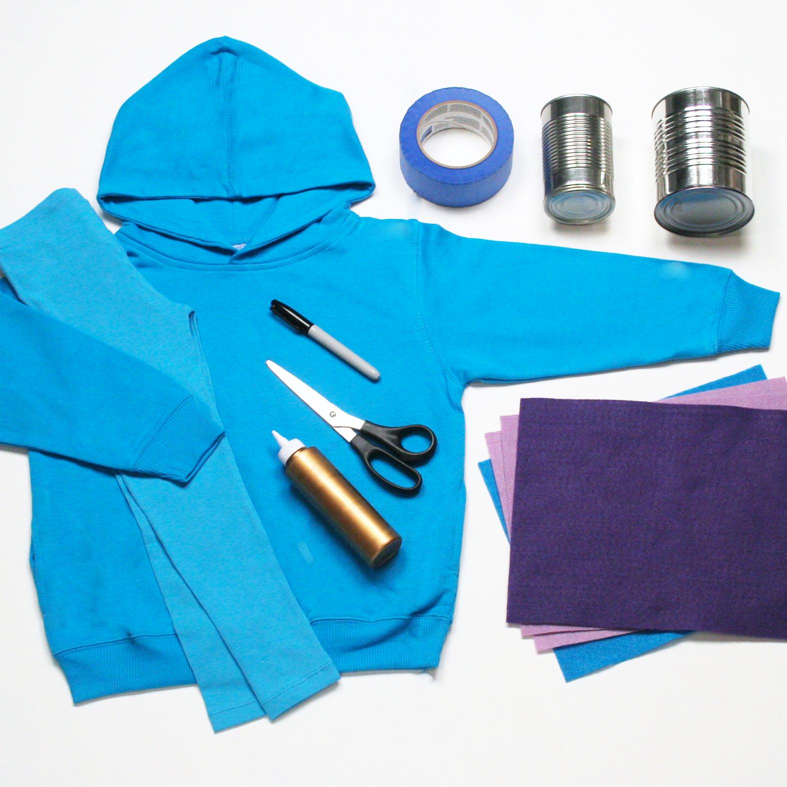 Eep costume materials