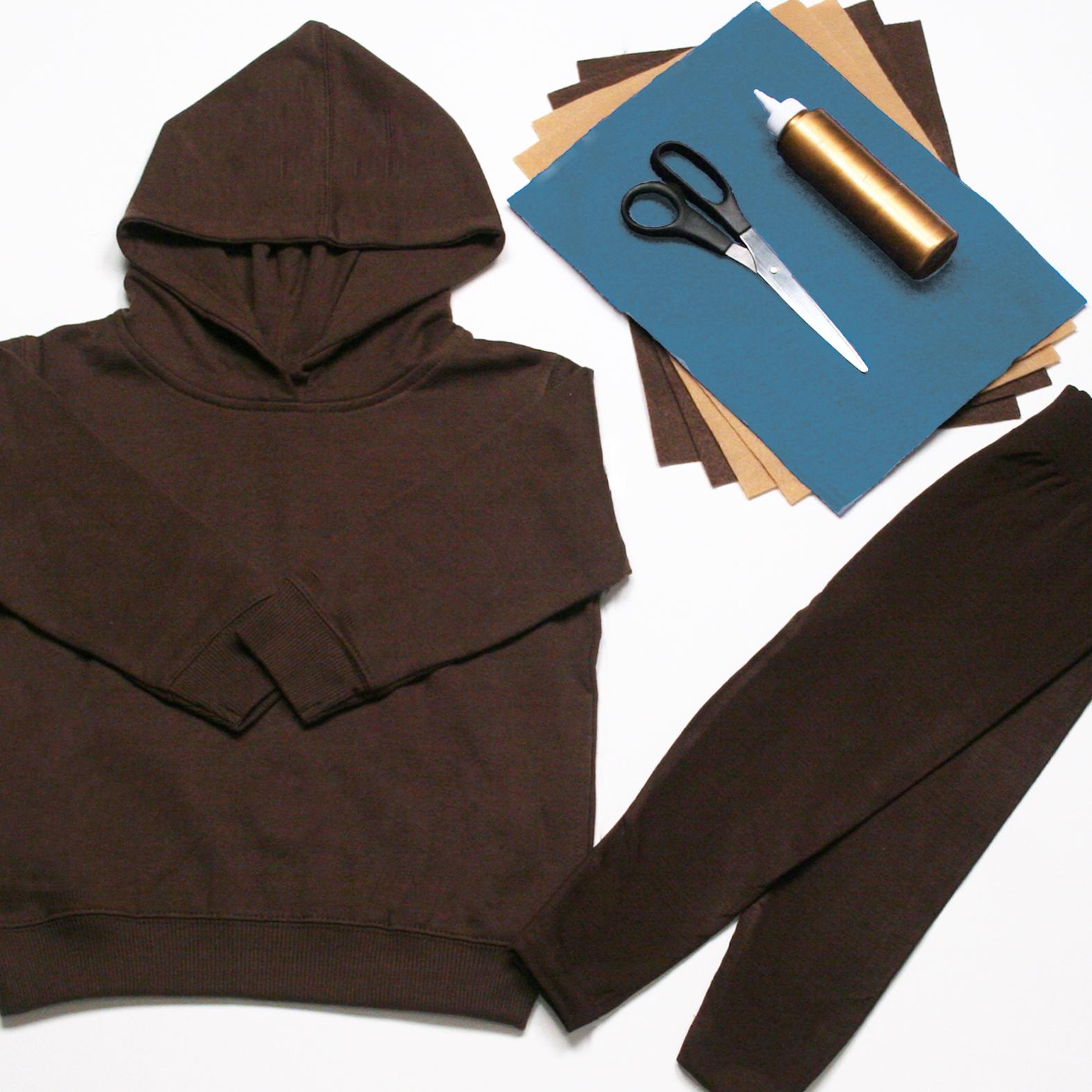 Teddy costume materials
