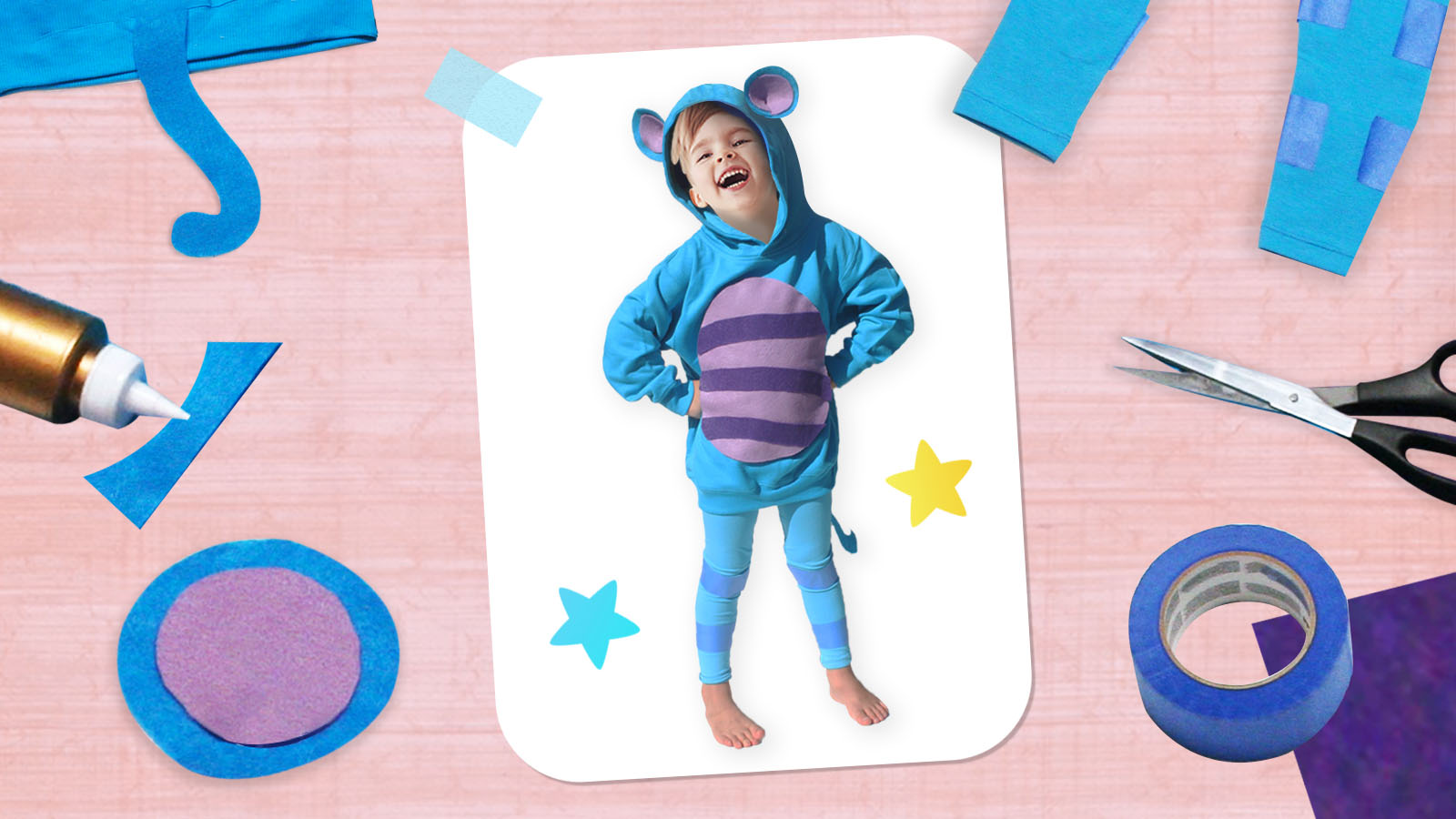 Make Your Own Eep the Mouse Costume