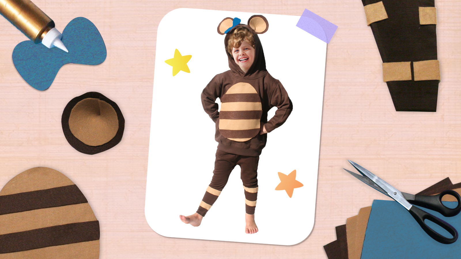 Make Your Own Teddy Costume