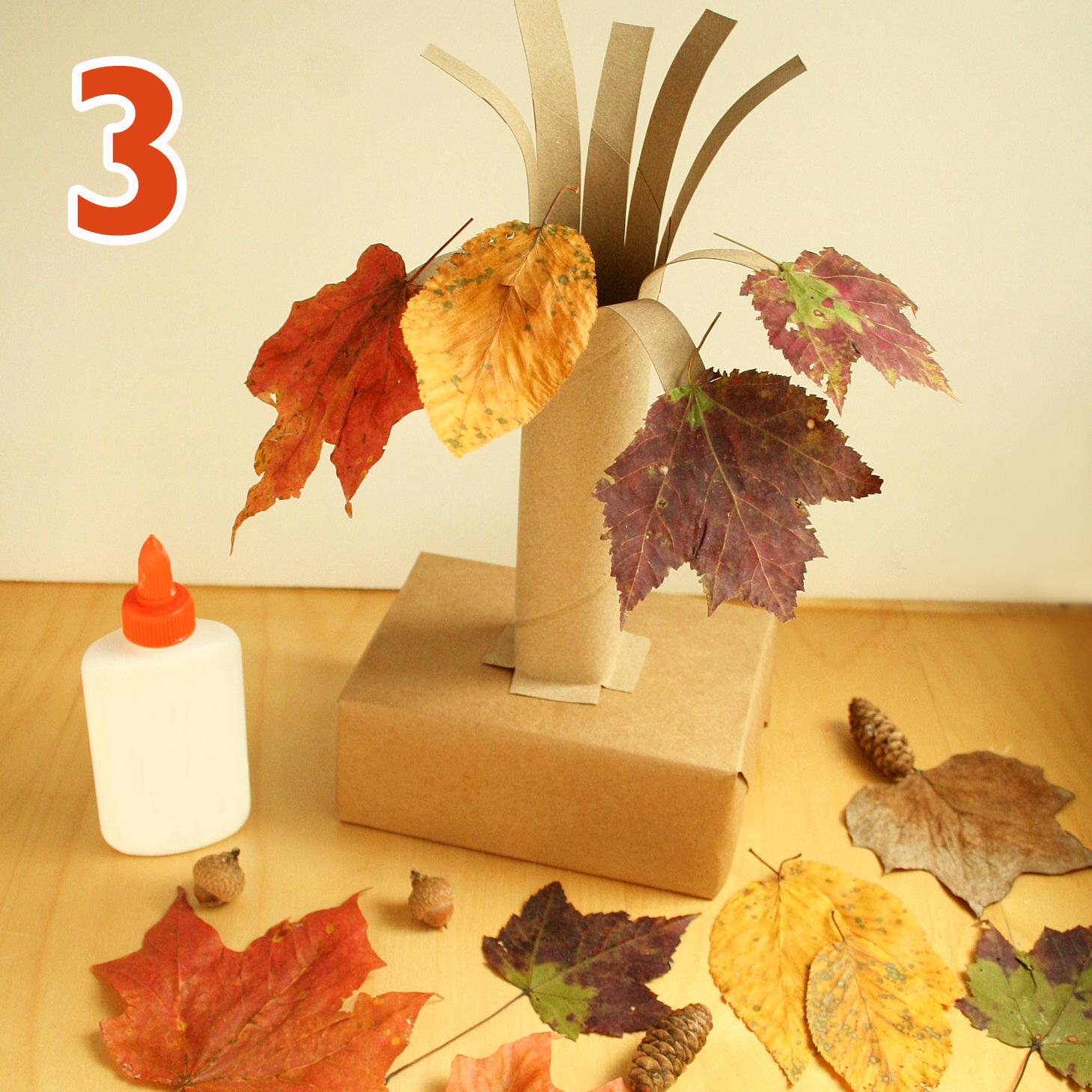 Fall tree craft step 3