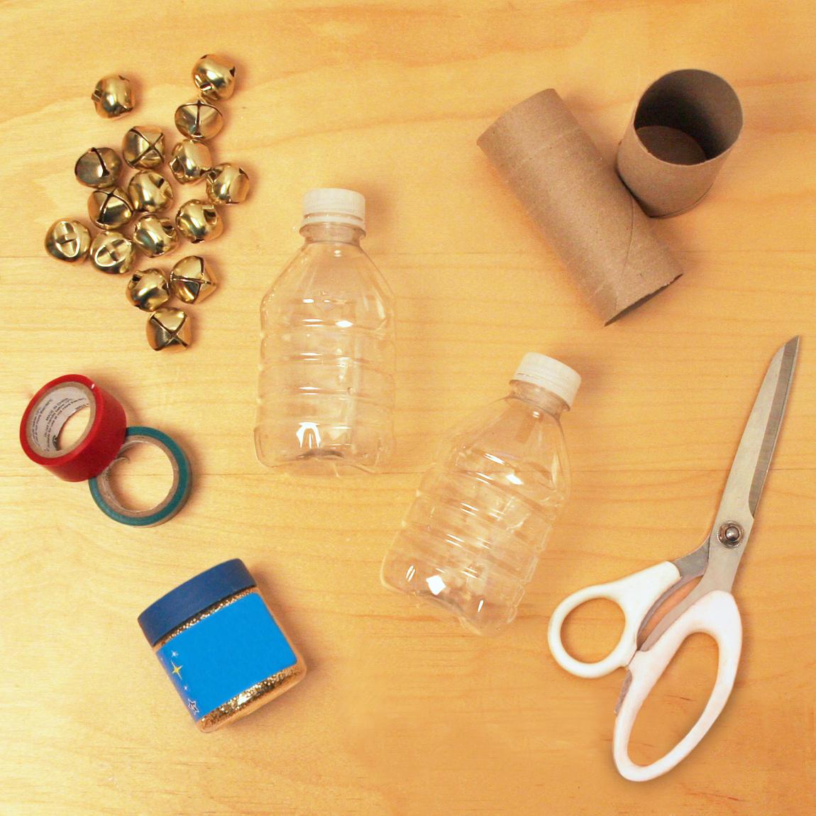 Holiday shaker craft materials