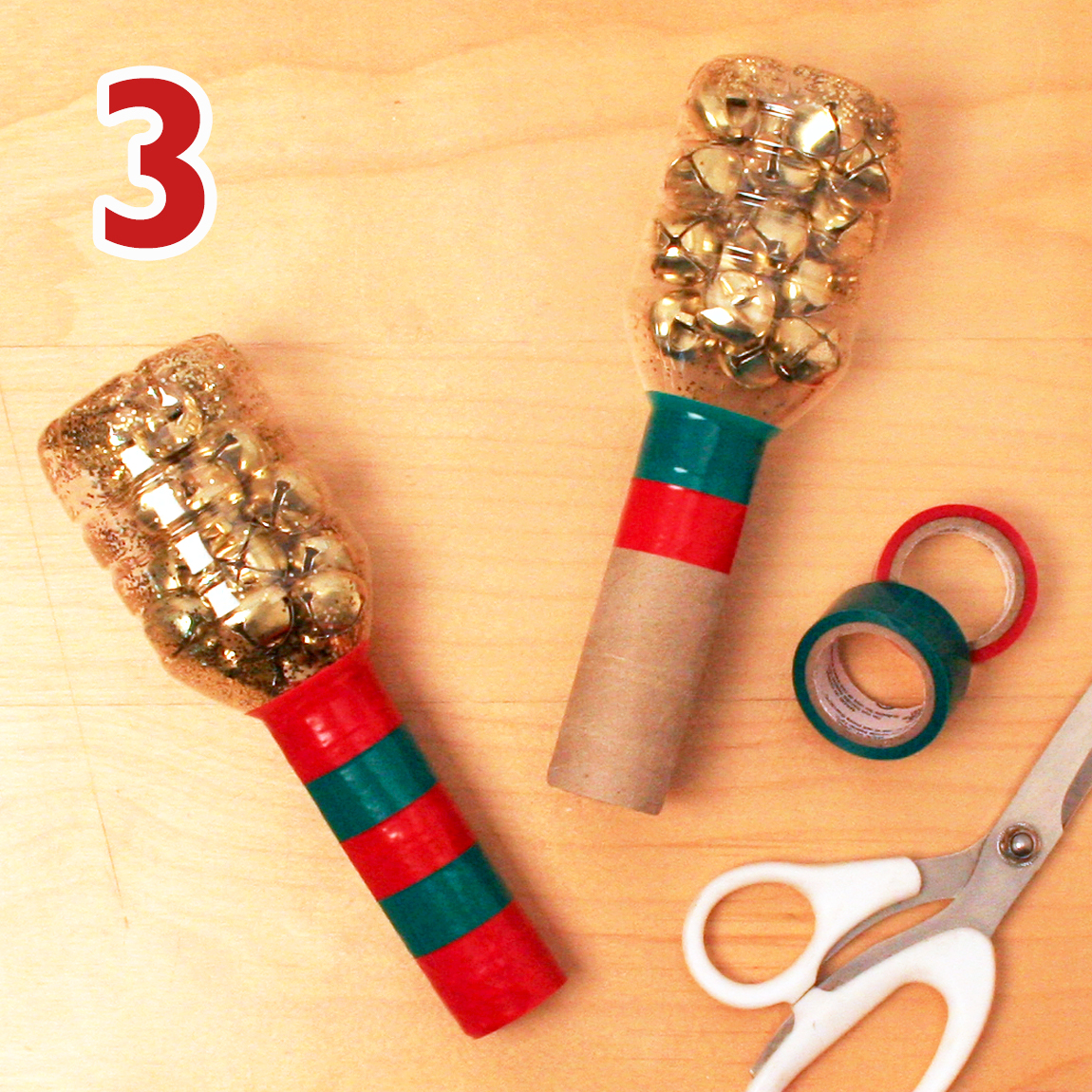 Holiday shaker craft step 3