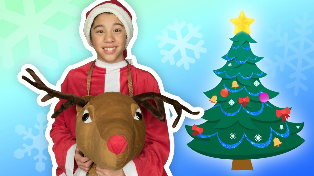 O Christmas Tree (Santa) - Nursery Rhymes - Mother Goose Club