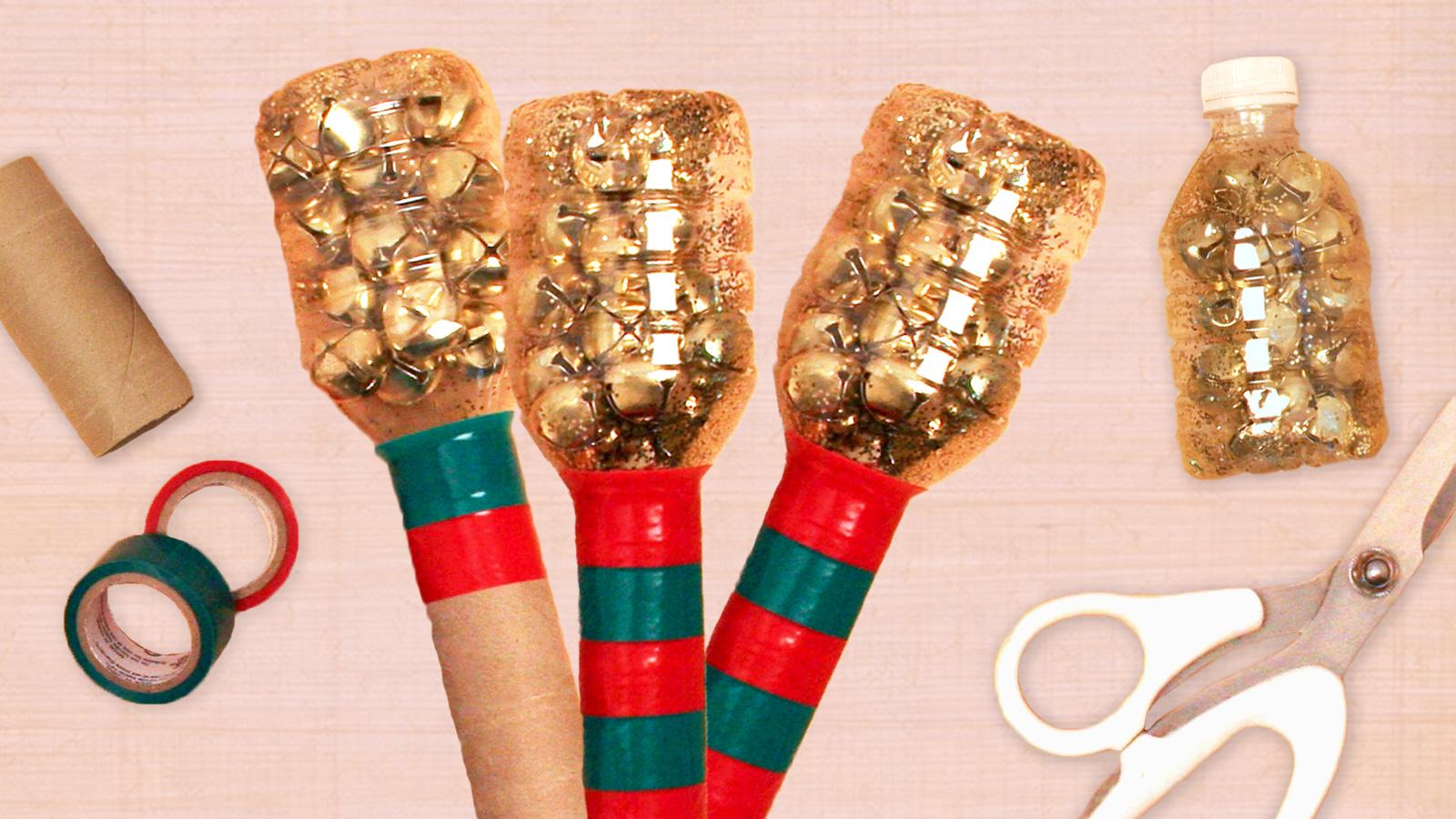 DIY Holiday Shakers Craft