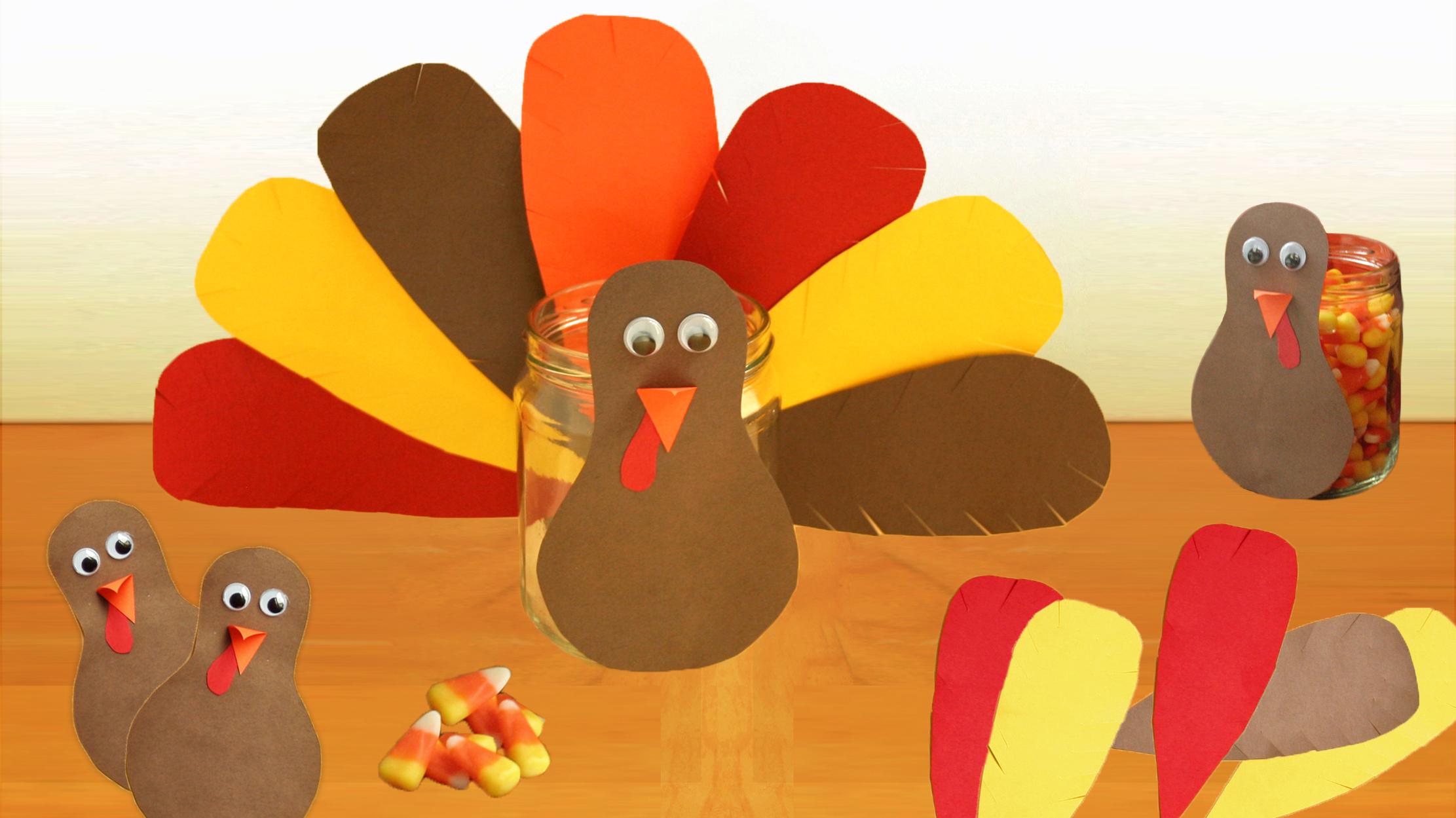 DIY Thanksgiving Turkey Craft