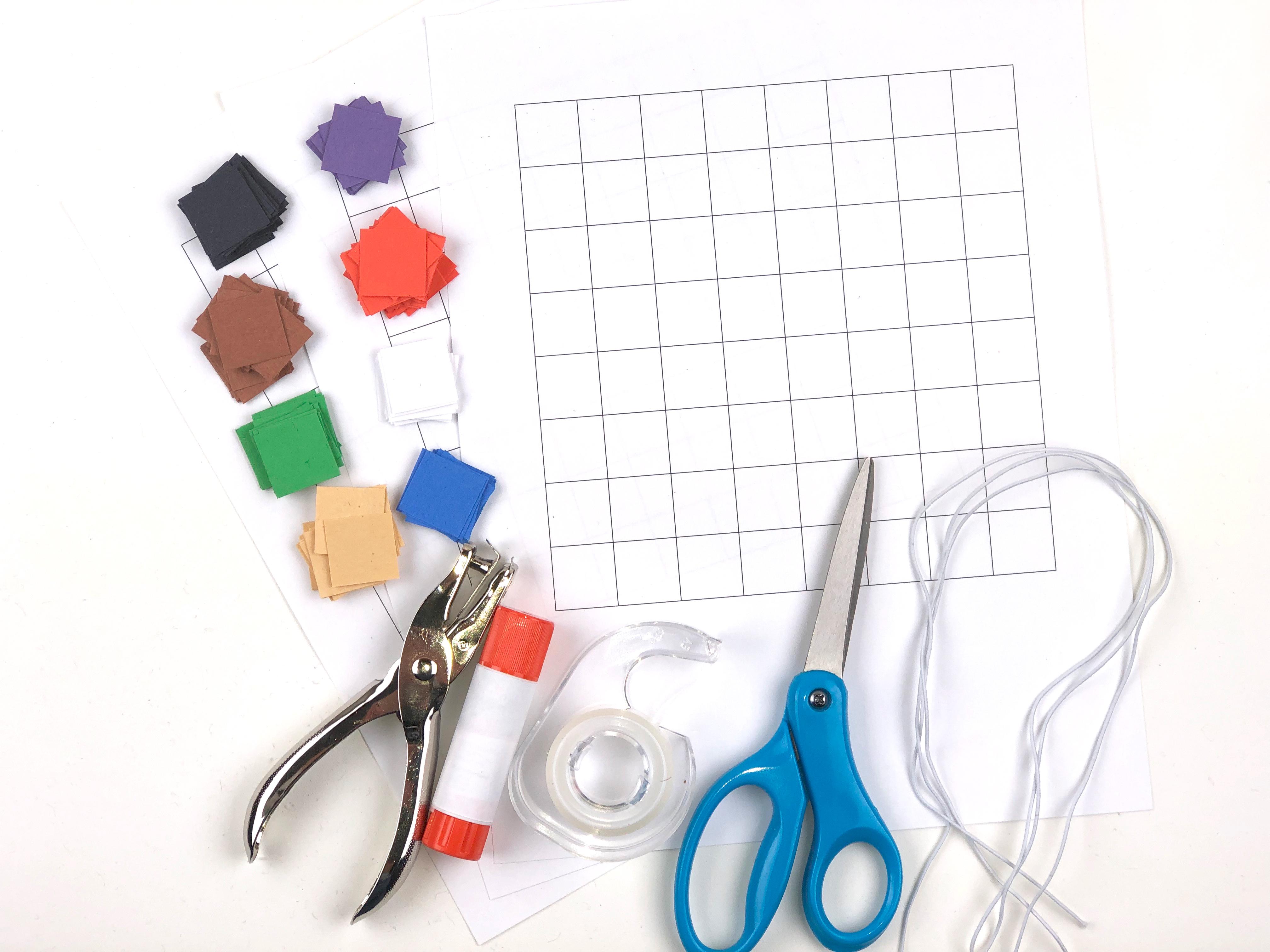 Minecraft Mask Craft materials