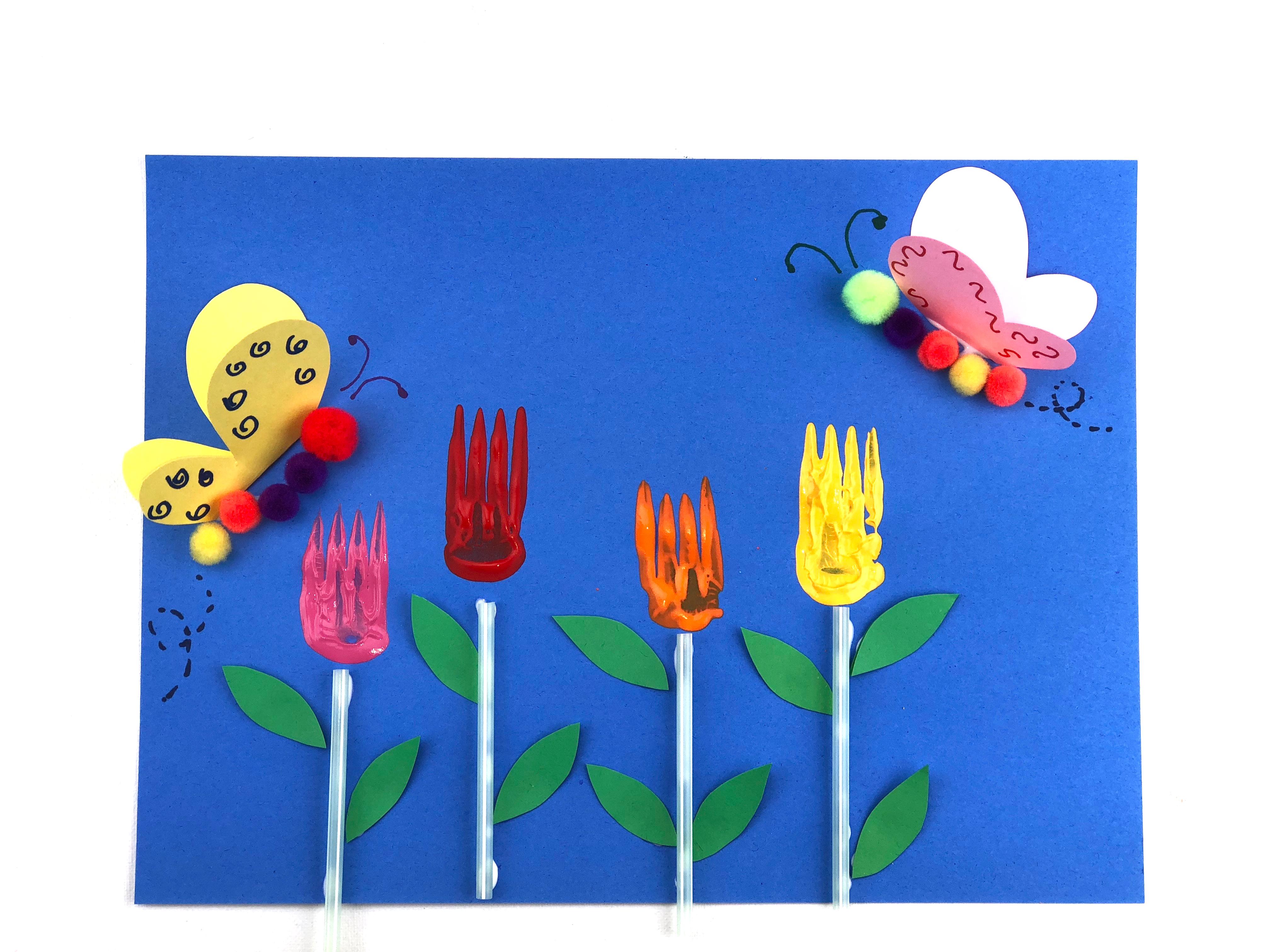 Spring Garden Craft final