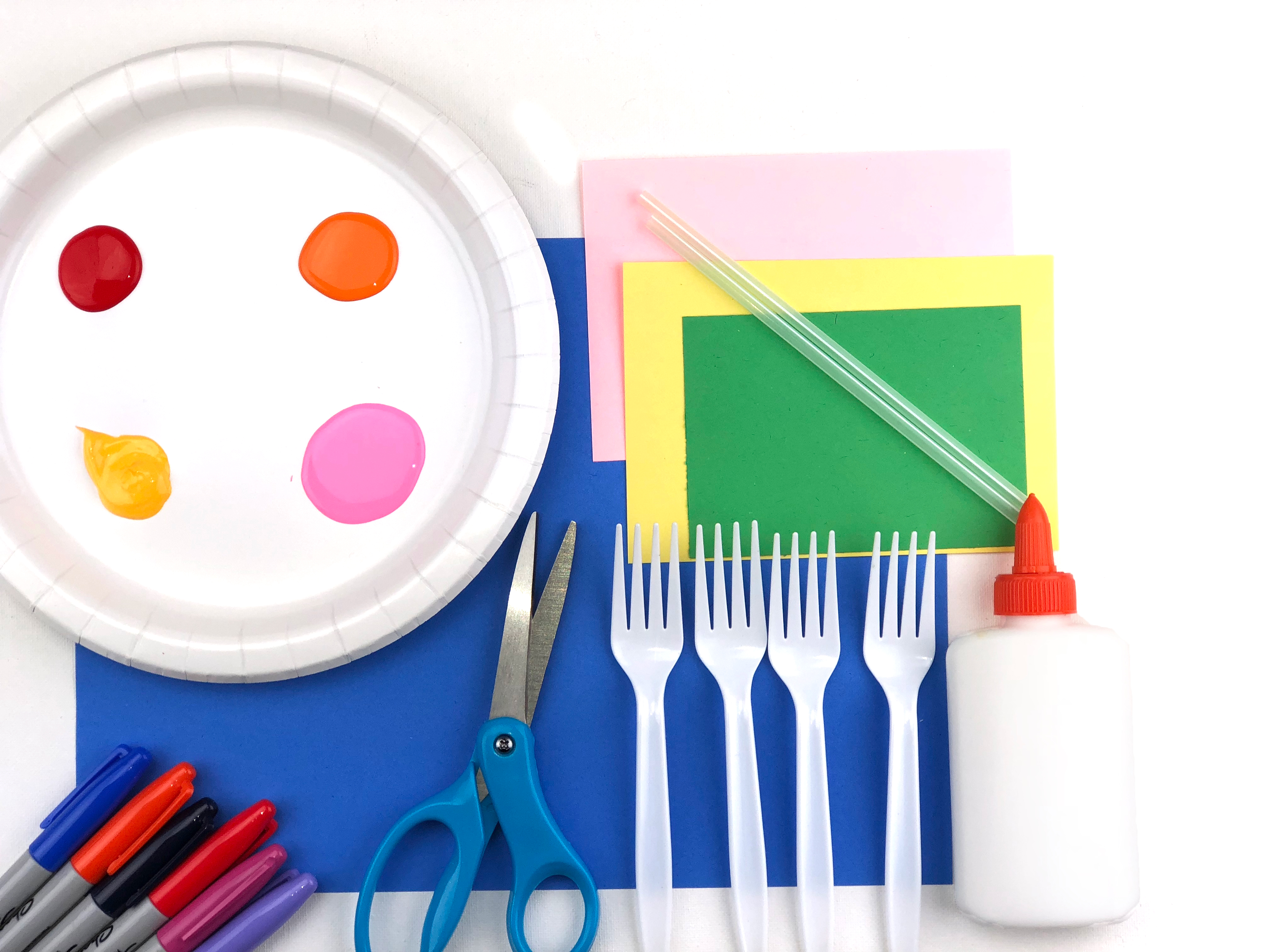 Spring Garden Craft materials