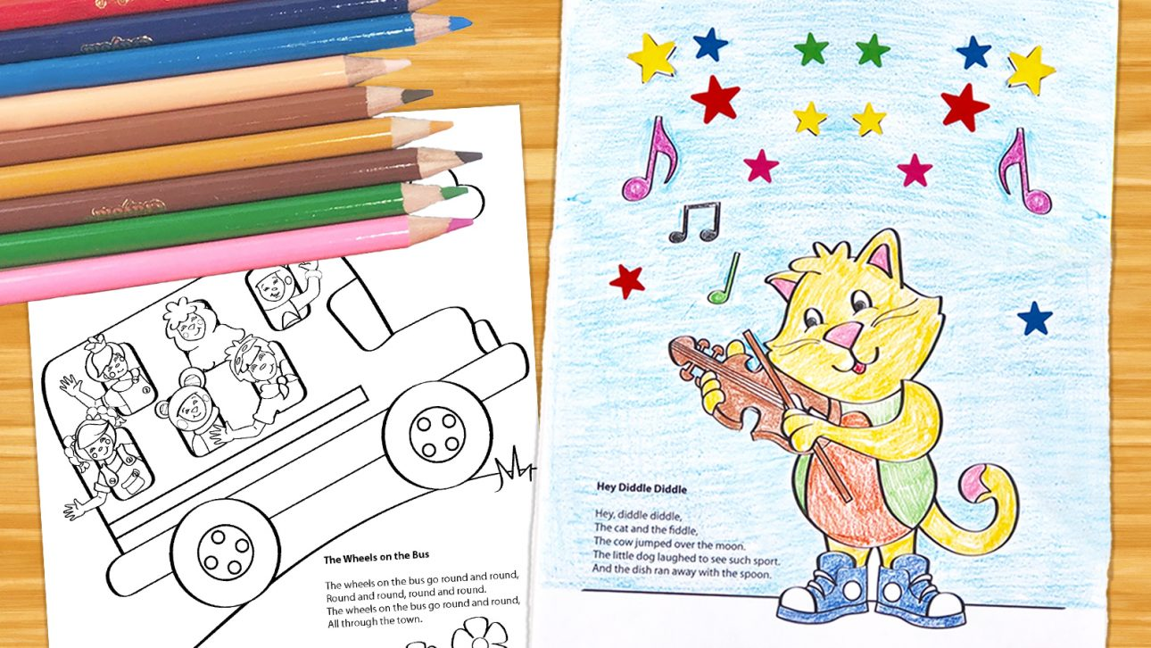 - 5 Benefits Of Our Free Coloring Pages - Mother Goose Club