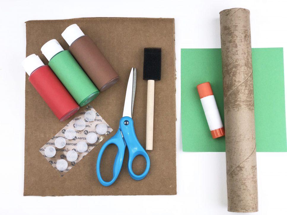 Apple Tree Craft materials