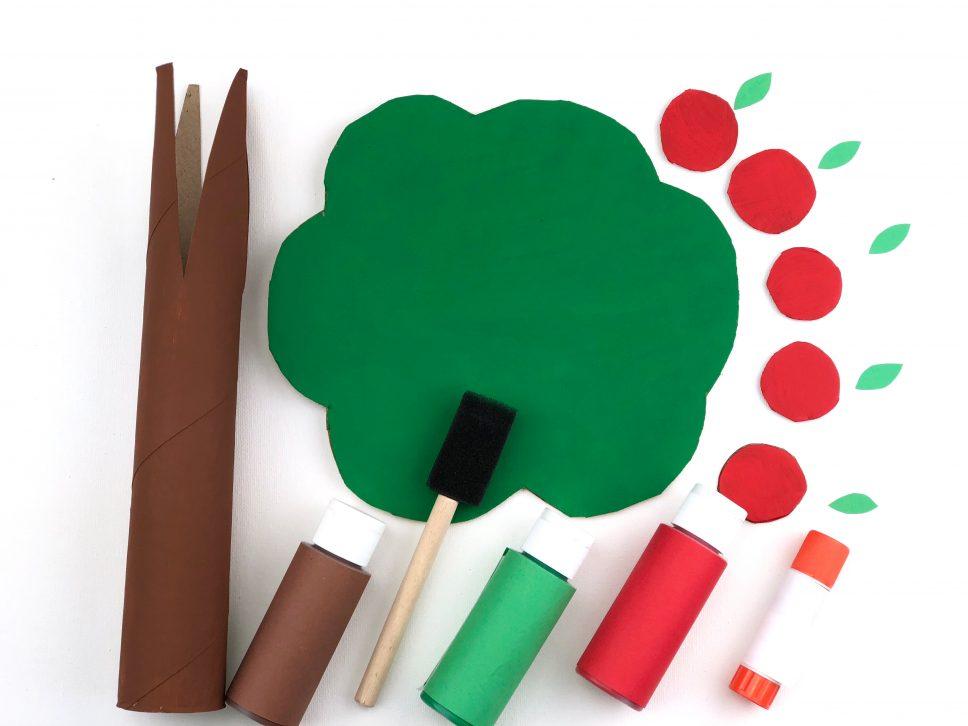Apple Tree Craft step 2
