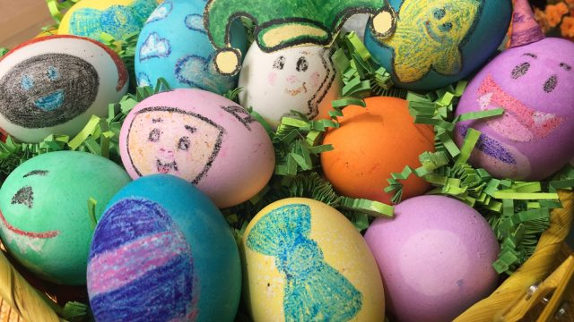 Mother Goose Club Easter Eggs