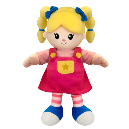 Mary Quite Contrary Plush Doll