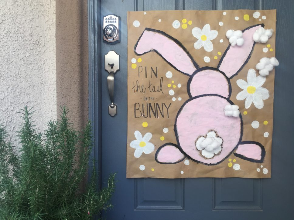 Play Pin the Tail on the Bunny!