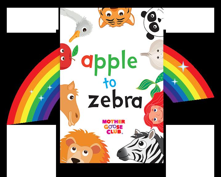 apple to zebra alphabet book