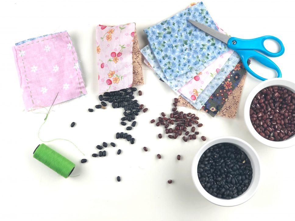 Backyard Bean Bag Toss Activity step 1