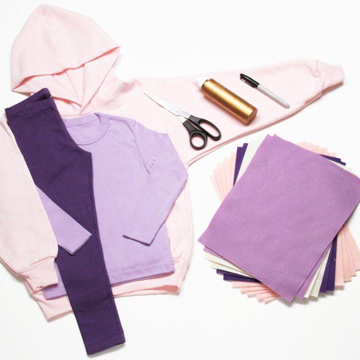Baa Baa costume materials