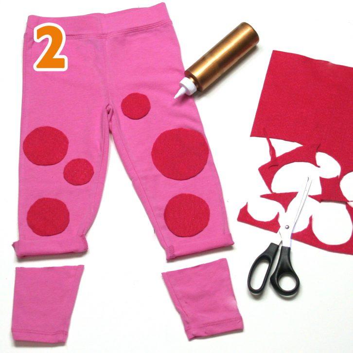 Bo Peep costume step 2