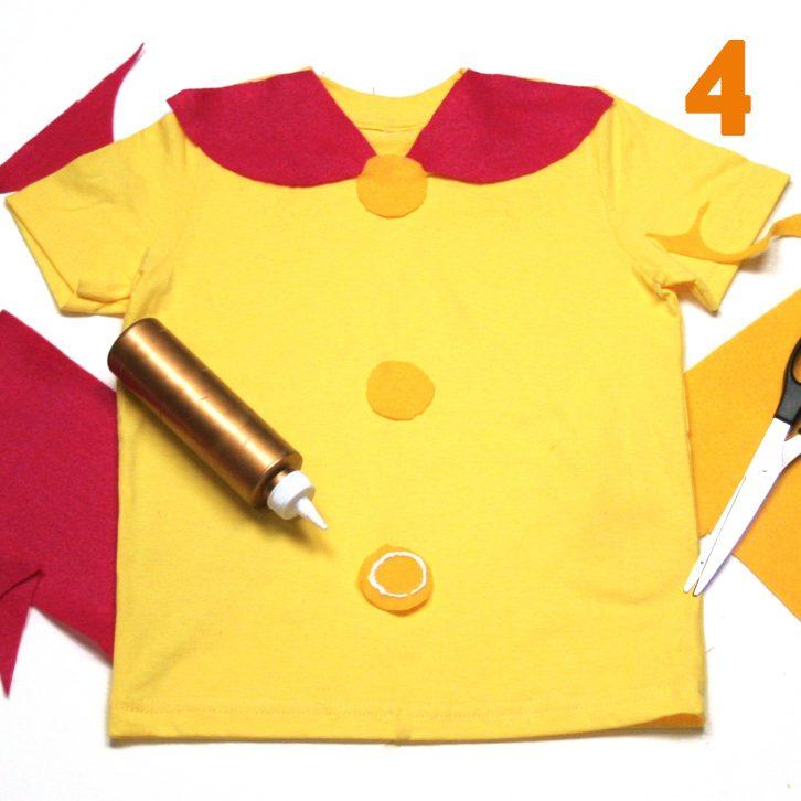 Bo Peep costume step 4