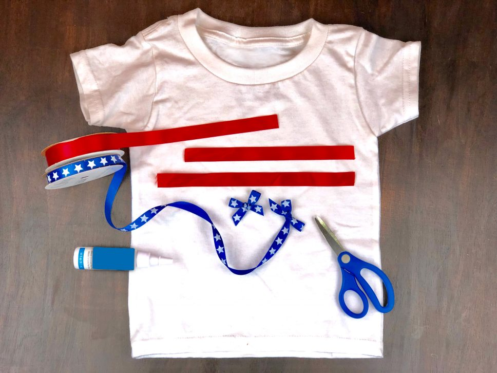 4th of July Craft materials