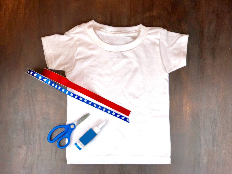 4th of July Craft step 1