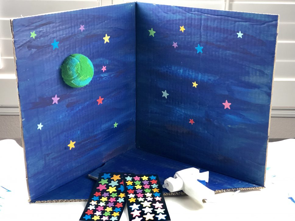 Eight Planets Craft step 3