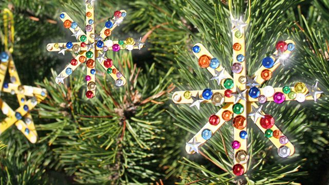 Twinkling Star Ornament Craft