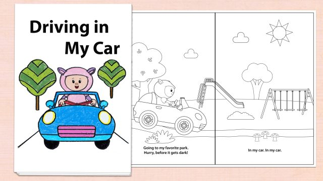 Driving in My Car Printables