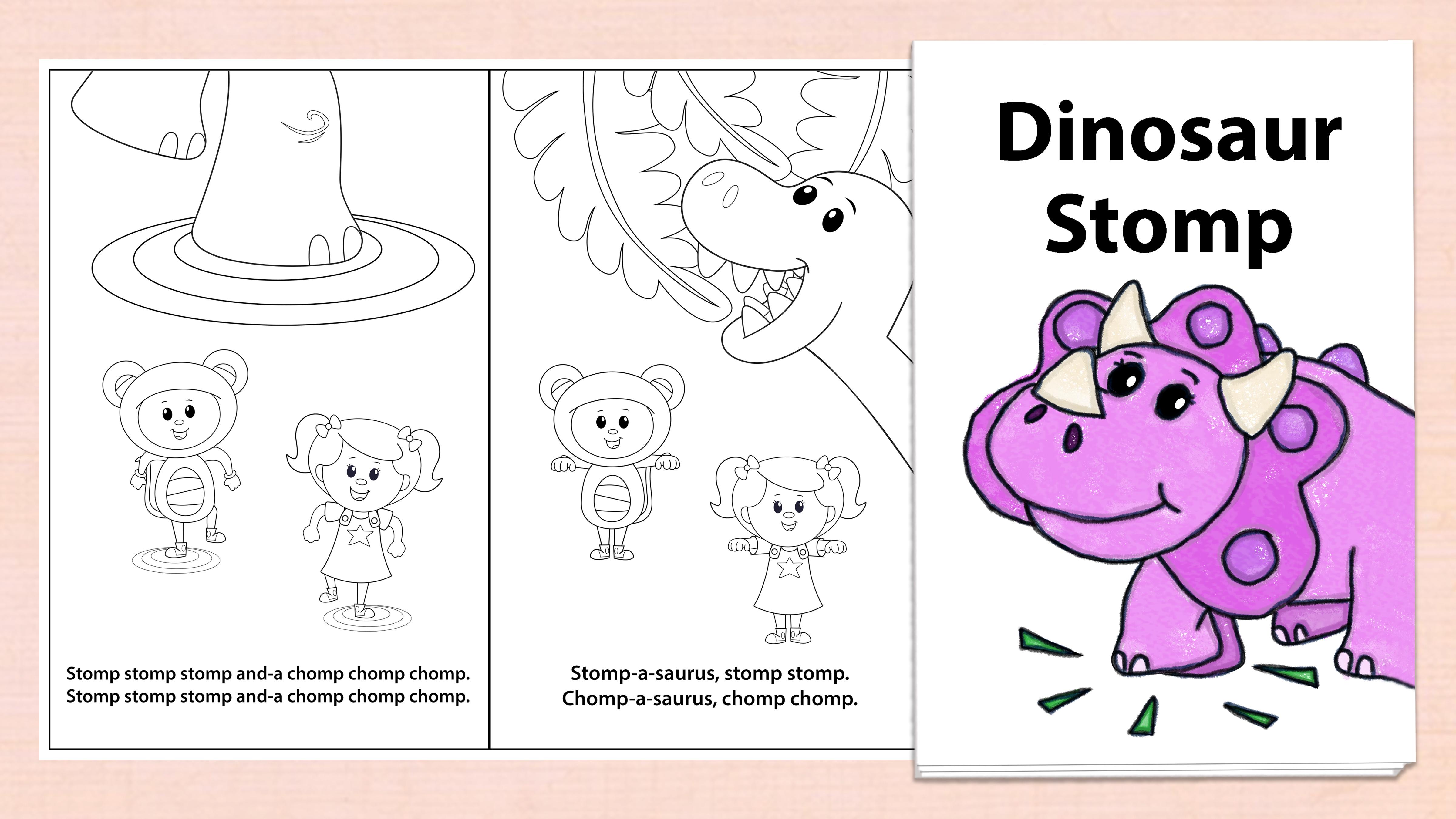 'Dinosaur Stomp' Printables