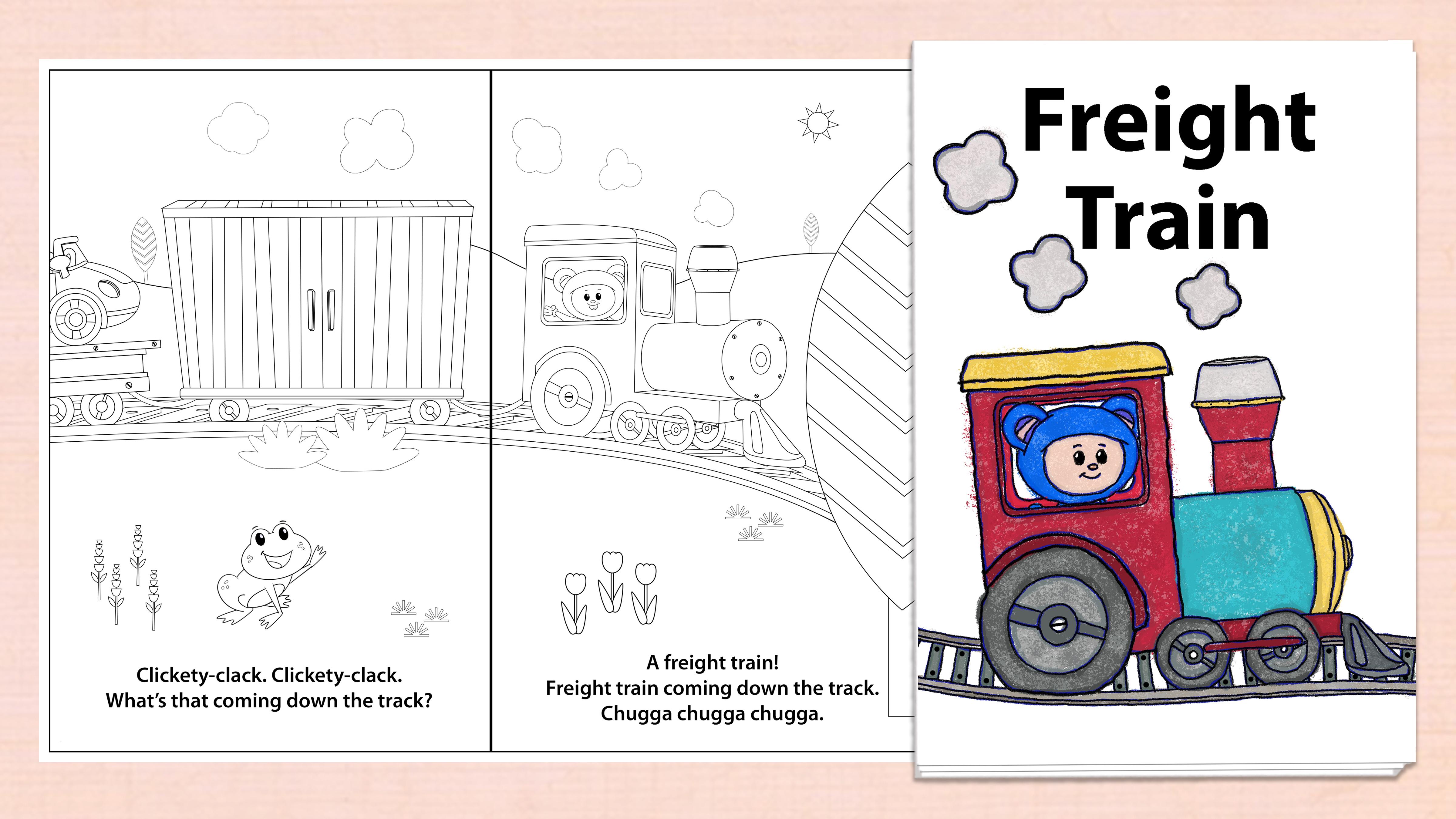 'Freight Train' Printables
