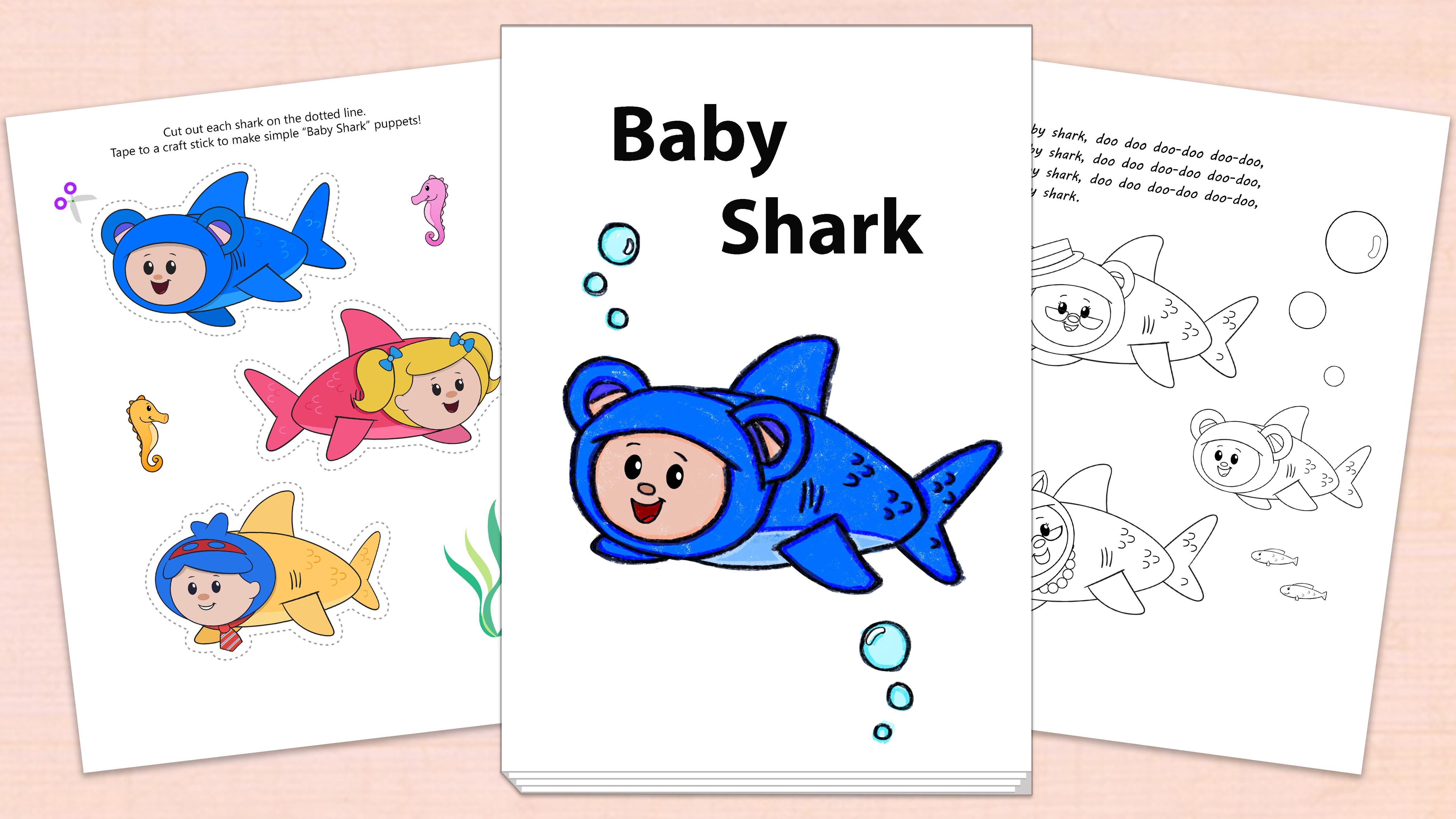 'Baby Shark' Printables