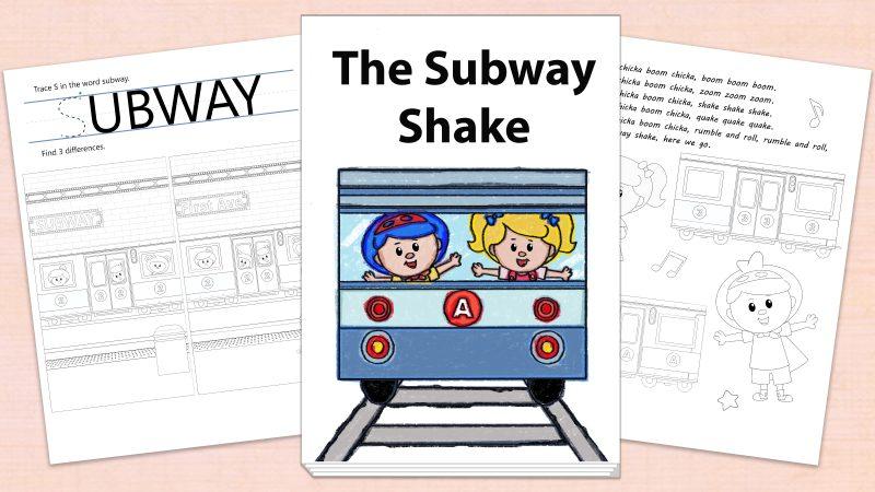 Image for The Subway Shake – Printables