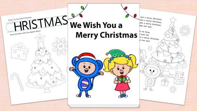We Wish You a Merry Christmas Printables