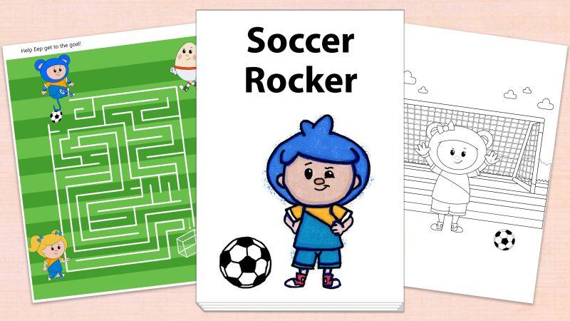 Image for Soccer Rocker – Printables