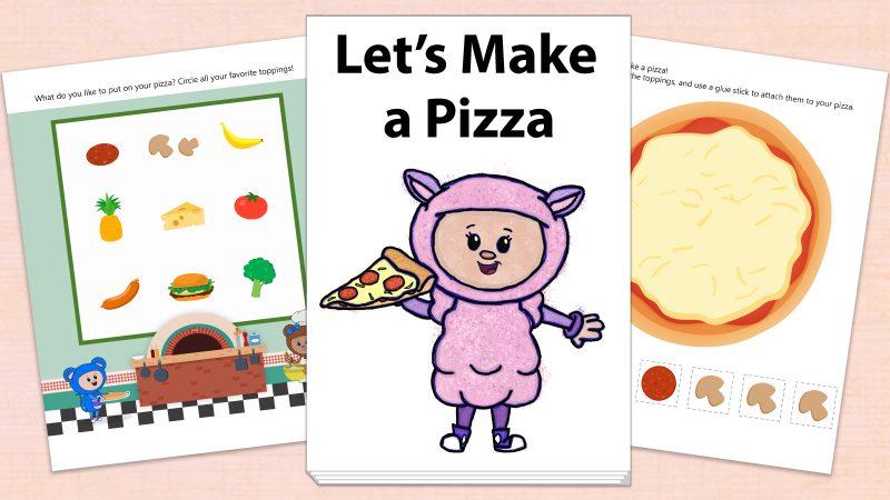 Image for Let's Make a Pizza – Printables