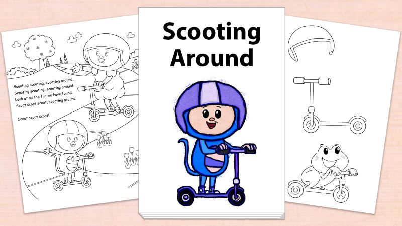 Image for Scooting Around – Printables
