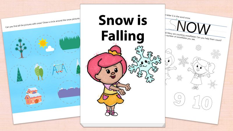 Image for Snow is Falling – Printables