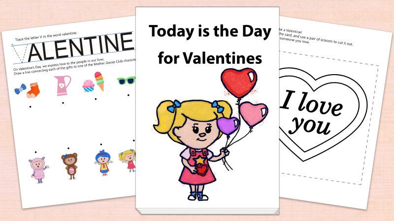 Image for Today is the Day for Valentines – Printables