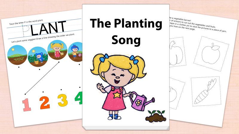 Image for The Planting Song – Printables