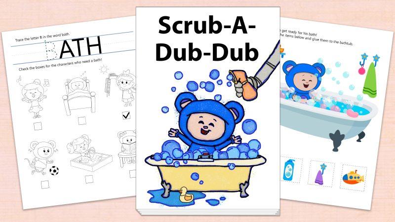 Image for Scrub-A-Dub-Dub – Printables