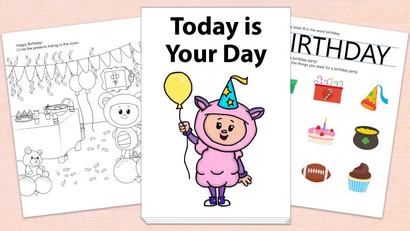 Image for Today is Your Day – Printables